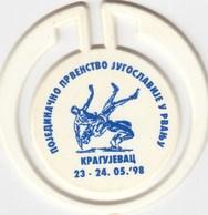 Plastic Badge ?  Yugoslavia Wrestling Championship In Kragujevac 1998 - Lotta