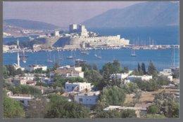 CP Türkiye, Bodrum43, Yachts,mosquées,château - Turchia