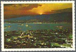 CP 33-135-Türkiye, IZMIR, General View Night-Vue Generale Nocturne - Turchia