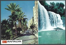 CP 07-32-Türkiye, ANTALYA, 2 Vues - Turchia
