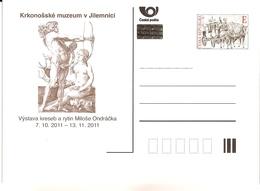CDV B Czech Republic Milos Ondracek Exhibition In Jilemnice - Engraving Of Dürer 2011 - Gravuren