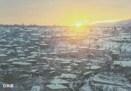 Turkey - Safranbolu Winter Sunrise, China's Postcard - Turchia
