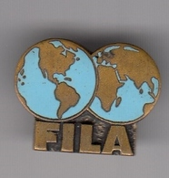 Enamel Pin Badge FILA International Wrestling Association Federation Luttes - Lotta