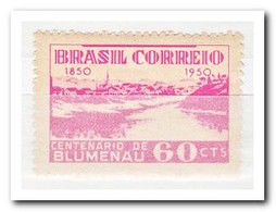 Brazilië 1950, Postfris MNH, 100 Years Blumenau, Santa Catarina - Brazilië