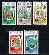 """Kind & Jugend """"Annee Internationale De L` Enfant 1979 """", NICARAGUA , Mi. 2080-84 B , Postfr. / MNH / Neuf - Kind & Jugend"""