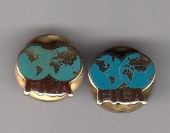 2 Different Pins  Pin Badge FILA International Wrestling Association Federation Luttes - Lotta