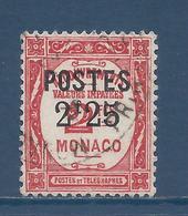 Monaco - YT N° 152 - Oblitéré  - 1937 - Monaco