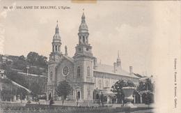 Sainte-Anne-de-Beaupré Québec Canada - L'Église Church - Pilgrimage - By Pruneau & Kirouac - 2 Scans - Ste. Anne De Beaupré