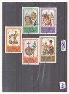 Iles Grenade 1977, N° 730 / 734 Oblitéré - Grenade (1974-...)