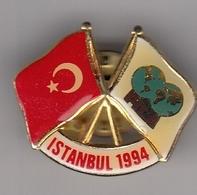 Pin Badge World Wrestling Championship Istanbul Turkey 1994 94 FILA - Lotta