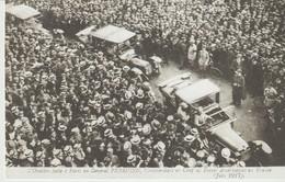 C P A - L'OVATION FAITE A PARIS AU GÉNÉRAL PERSHING COMMANDANT EN CHEF LES FORCES AMÉRICAINES EN FRANCE - JUIN 1917 - - Guerra 1914-18