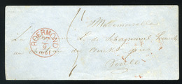 NETHERLANDS  1861. Stampless Cover Roermond - Netherlands