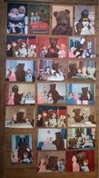 Lot De 21 Cartes Postales / Television / Bonne Nuit Les Petits / YVON - Collections, Lots & Séries