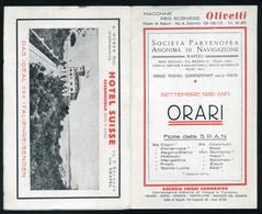 SWITZERLAND Hotel Suisse , Vintage Brochure - Vieux Papiers