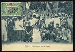 CONGO Belgian Vintage Postcard - Congo - Brazzaville