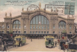 Oblitération Flier Jeux Olympiques Paris Mai Juin Juillet 1924 - Poststempel (Briefe)