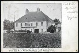 AUSTRIA 1900. Josef Kindl's Gasthaus Vintage Postcard - Sonstige