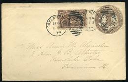 UNITED STATES 1894. Nice Cover To Hawaii - Etats-Unis