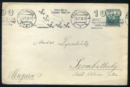 CZECHOSLOVAKIA 1938. Nice Old Cover To Hungary , Szombathely - Tschechoslowakei/CSSR