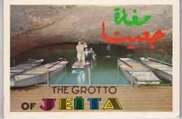 Carnet 10 CPA Liban , Grotte De Jeita , Photo Sport Beirut Lebanon - Liban