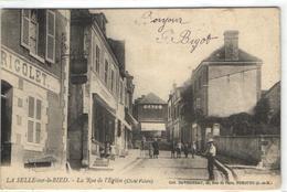 """1 Cpa La Selle Sur Le Bied """"pionnière 19??"""" - Non Classés"""