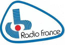 Autocollant - Radio France -  12 X 8 Cm - - Stickers