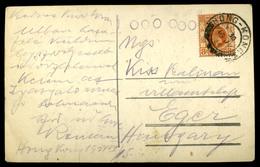 HONGKONG 1930. Képeslap Budapestre Küldve  /  1930 Vintage Pic. P.card To Budapest - Hong Kong (1997-...)