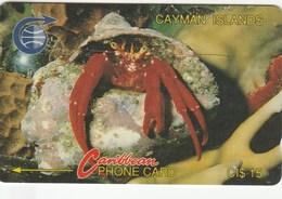Cayman Islands - Crab - 3CCIB - Cayman Islands