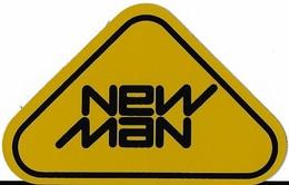 Autocollant - NEW MAN -  9,5 X 6 Cm - - Stickers
