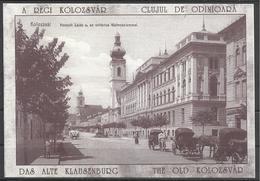 Romania, Cluj, Kolozsvar,  Unitarian Church And Lyceum 1900,  Reprint. - Roumanie