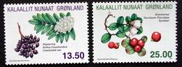 Greenland 2011 Wild Plants.   Minr.583-84   MNH  ( ** ) ( Lot  F  1099 ) - Ongebruikt