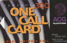 Tanzania - ACG - One Call Card - Tanzania