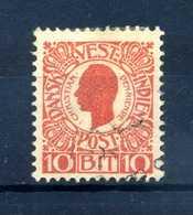 1905 ANTILLE N.28 USATO - Danimarca (Antille)