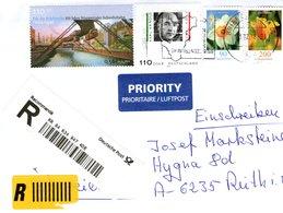 Auslands - Rekobrief Von Briefzentrum 45 Mit 456 Cent Mischfrankatur 2018 - BRD
