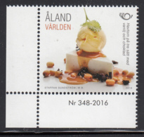 Aland 2016 MNH Cheesecake - Numbered Margin Copy - Aland