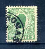 1905 ANTILLE N.27 USATO - Danimarca (Antille)
