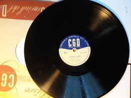 CGD  -  1952.  Serie  PV  Nr. 1792. Serafino BinBo  Con Lelio Luttazzi - 78 T - Disques Pour Gramophone