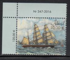 Aland 2016 MNH 10E Pehr Brahe Sailing Ship - Numbered Margin Copy - Aland