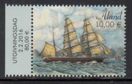 Aland 2016 MNH 10E Pehr Brahe Sailing Ship - Margin Copy - Aland