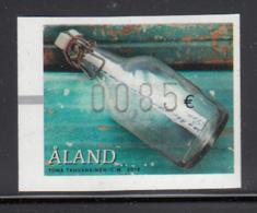Aland 2016 MNH  85c Message In A Bottle ATM - Aland