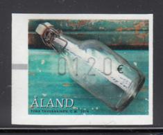 Aland 2016 MNH 1.20E Message In A Bottle ATM - Aland