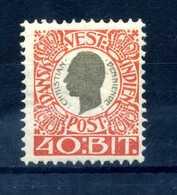 1905 ANTILLE N.31 * - Denmark (West Indies)