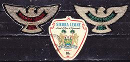 Sierra Leone 1967-Posta Aerea -Serie Completa  Usata - Sierra Leone (1961-...)
