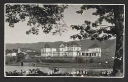 Brésil Brasil Carte Postale Photograpique Lambari Hotel SPA Minas Gerais Brazil Old Photo Postcard - Belo Horizonte