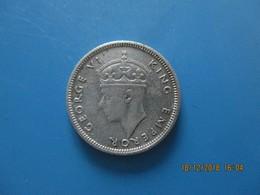 SEYCHELLES, 25 Cents Georges VI 1943, TB+ - Seychelles