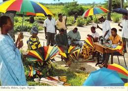 Afrique NIGERIA Umbrella Makers LAGOS (parapluie Parapluies)  ( John Hinde 2N OS 7)*PRIX FIXE - Nigeria