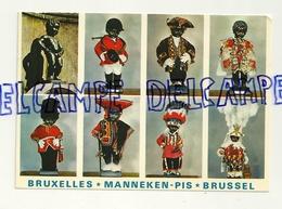 Bruxelles. Brussel. Manneken Pis Dans Différents Costumes. NELS. Helichrome. Edit. Thill SA - Personnages Célèbres
