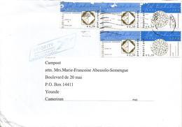 Nederland Netherlands 2010 Amsterdam Royal Joh. Enschedé Printers Xmas Cover To Cameroun - Period 1980-... (Beatrix)