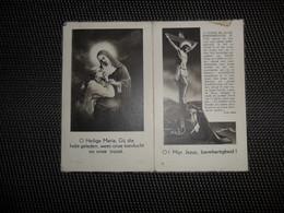 Doodsprentje ( G 316 ) ' T Jaeckx / Deckmyn   -  Oostende  -  1949 - Décès