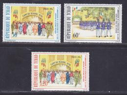 TCHAD N°  316 à 318 ** MNH Neufs Sans Charnière, TB (D7860) Anniversaire De La Révolution - 1976 - Chad (1960-...)